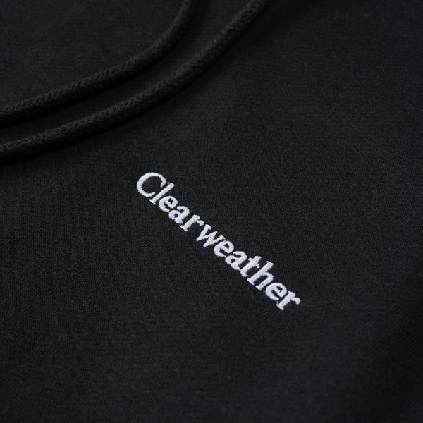 CW / HOODIE / BLACK - Clear Weather