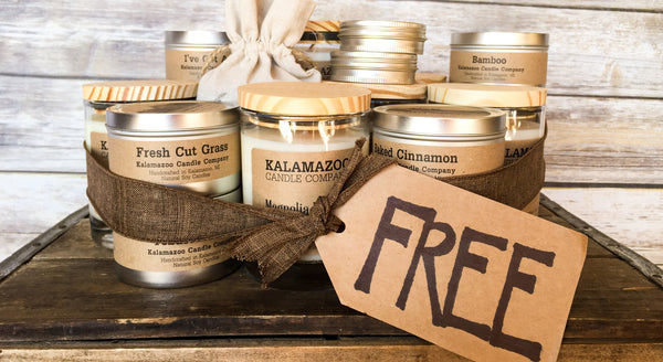 "Free Candles! (A.K.A. ""our rewards program"")"
