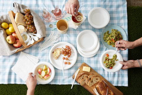 Biodegradable Picnic Bundle - 6pk (Image source: Brandless)
