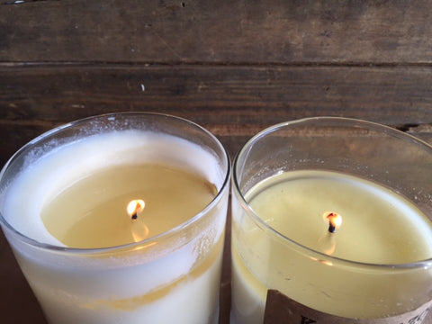 how to burn a candle: wrong way vs. right way