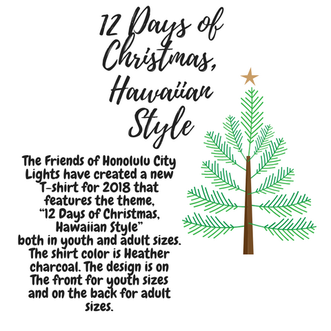 limited supply - 12 Days Of Christmas Hawaiian Style