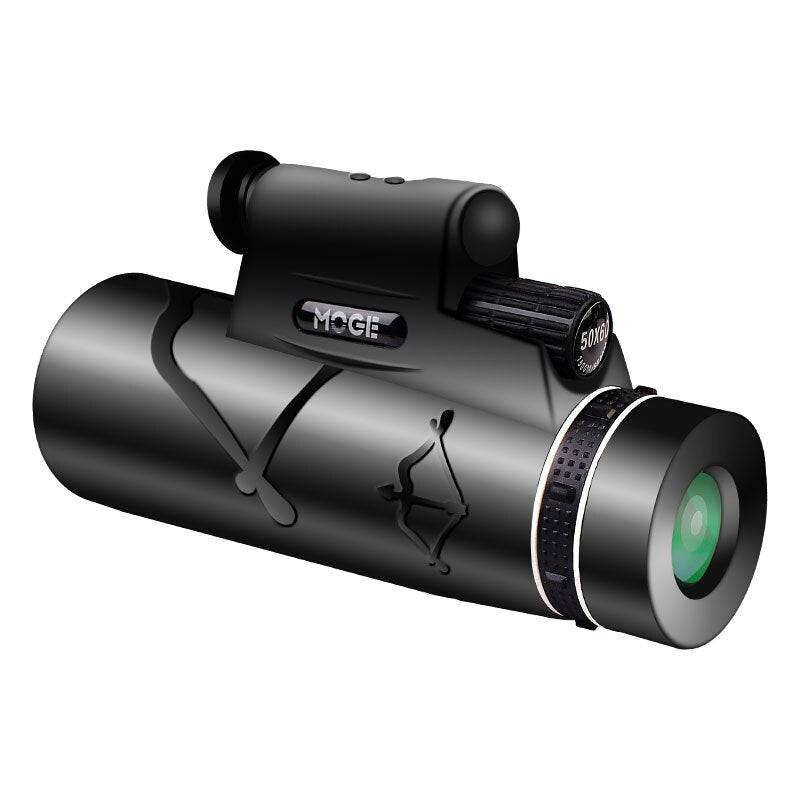Professional Monoculars Powerful HD Telescope 50x60 With Lamp Lighting And Night Laser Long-Range Pocket Night Vision Goggles - Quick two Ship