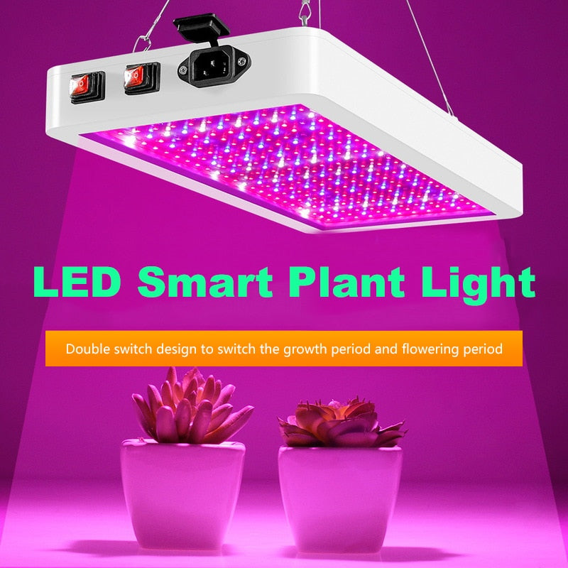 LED Grow Light 2000W Waterproof Phytolamp 2835 Leds Chip Phyto Growth Lamp 265V Full Spectrum Plant Lighting For Indoor Plant - Quick two Ship