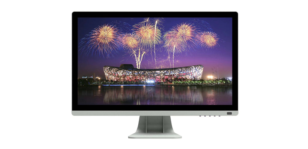15 17 19 21.5 inch 24'' inch lcd Monitor work with office/TV smart set-top box/PC - Quick two Ship