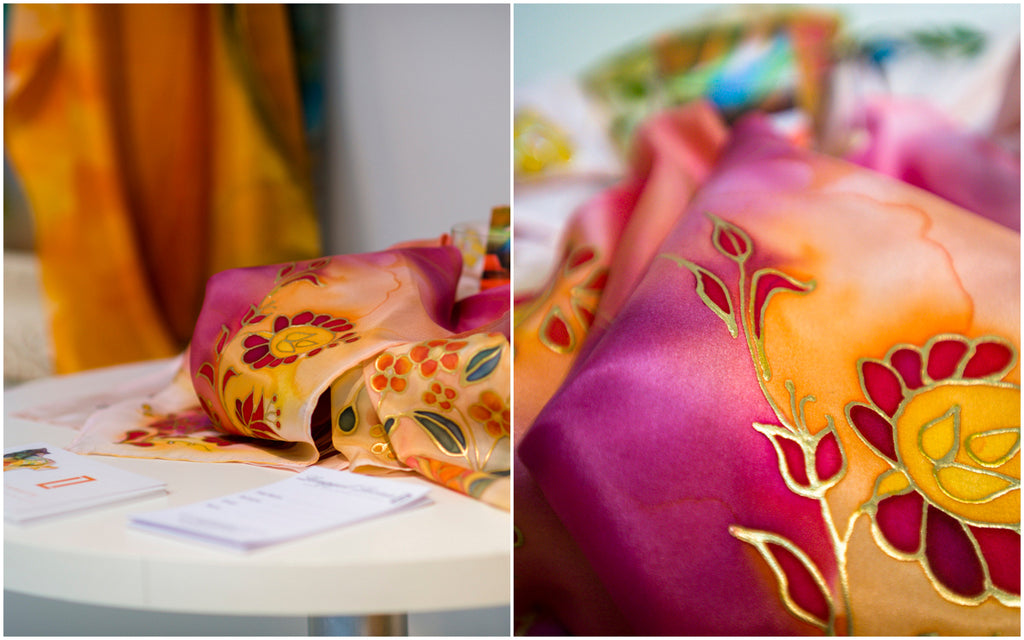 hungarian luxury silk scarves