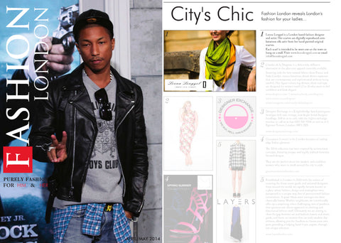 Fashion London magazine, city's chic