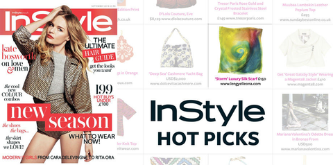 Instyle magazine hot picks