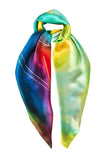 silk scarf: Storm in multi colour
