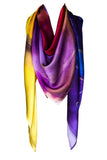 silk scarf: Daydream in multi colour