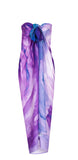 rayon scarf: Beyond The End in purple