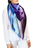 silk scarf: Mystic Purple
