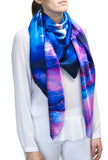 silk scarf: Above The Clouds