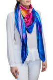 silk scarf: Rainbow Maker