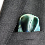 mens pocket square in silk