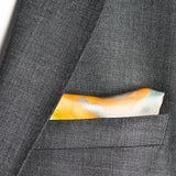 wedding pocket square in silk