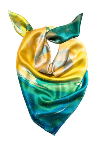 silk neckerchief: Valencia