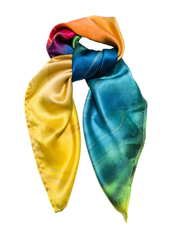 silk neckerchief: Storm
