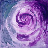 abstract design in purple colour