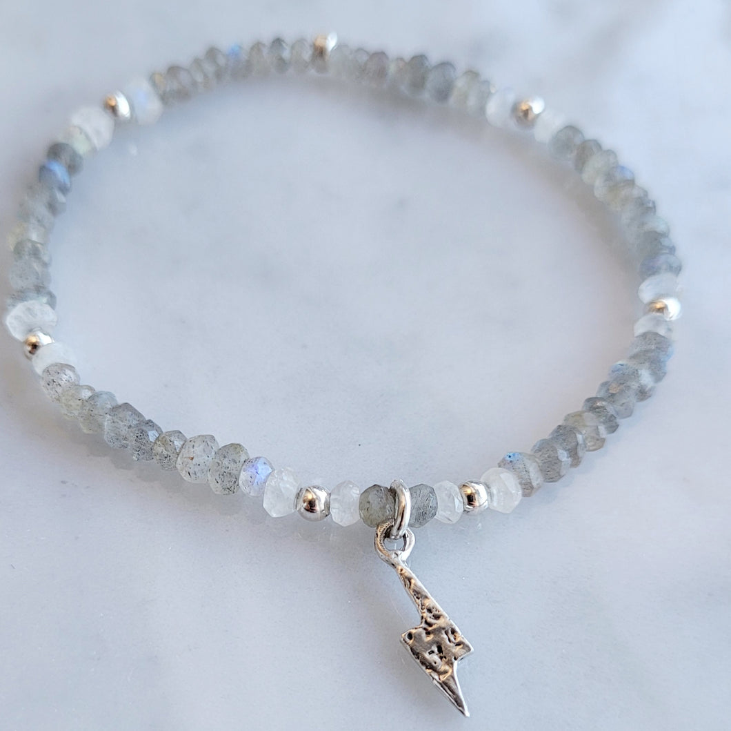 Grey Lighting Bracelet