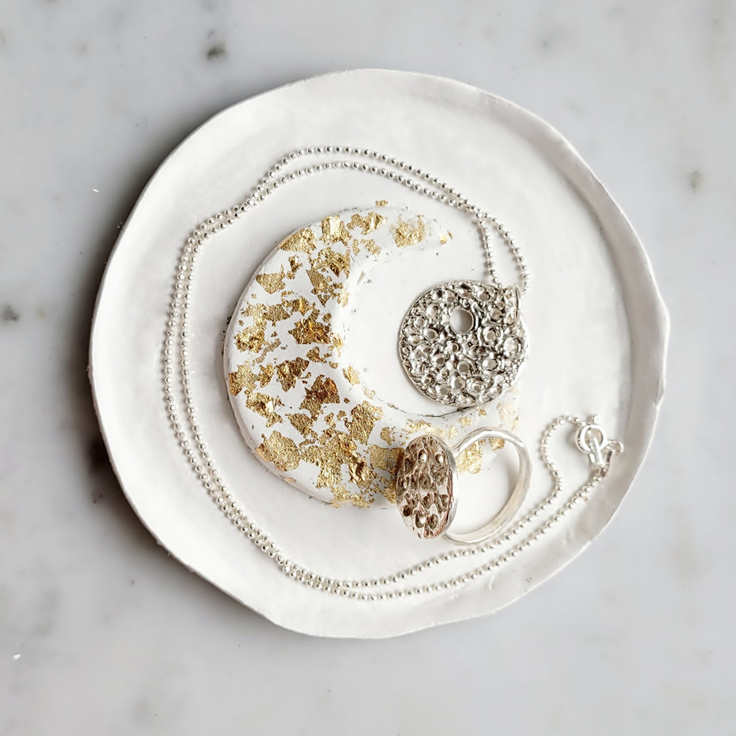 Gold Moon Dish