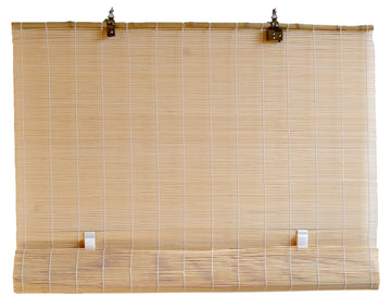Natural Bamboo Matchstick Cordless Roll Up Window Blind