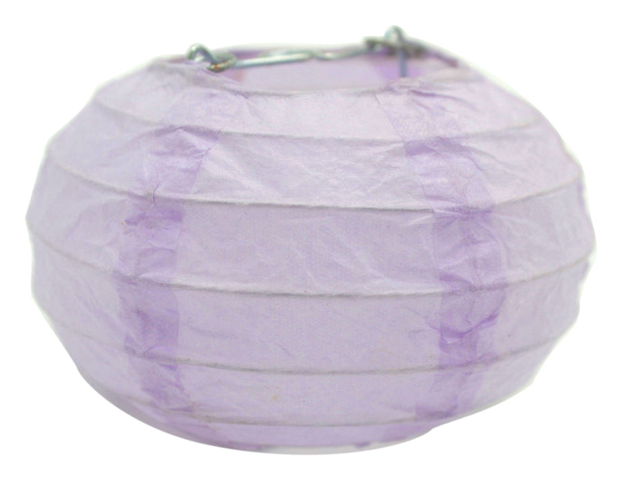 3.5-Inch Oval Pumpkin Mini Decorative Paper Lantern