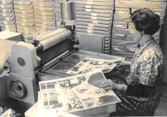 Advent calendar production in the 50s