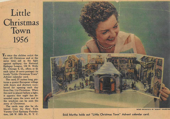 Miss Christmas Town 1956