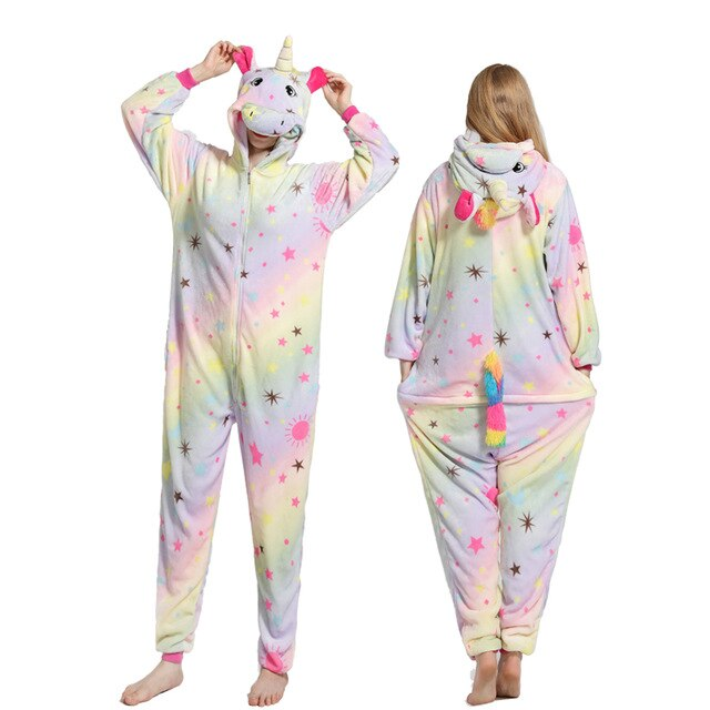 Colorful Star Unicorn Onesie