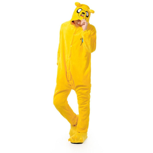 Jake Yellow Dog Kigurumi Onesie