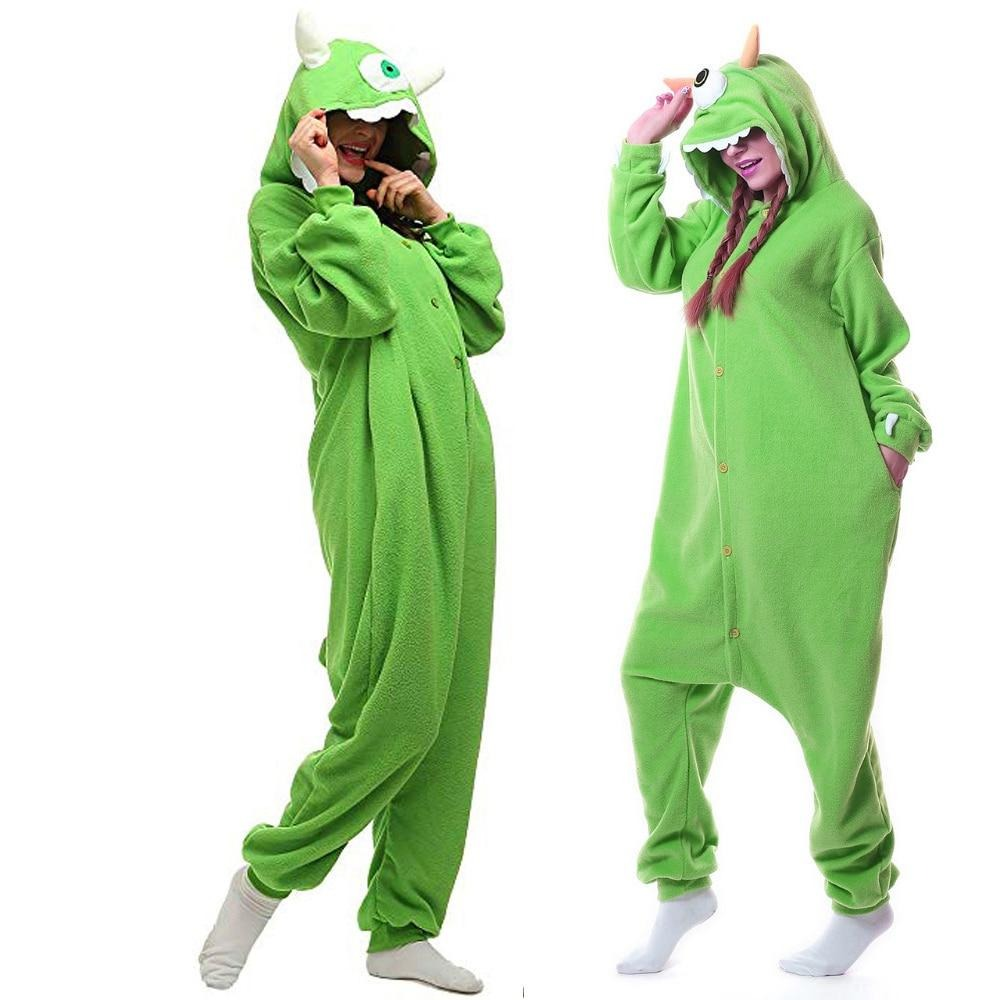 Cartoon One Eye Monster Kigurumi Onesie Costume
