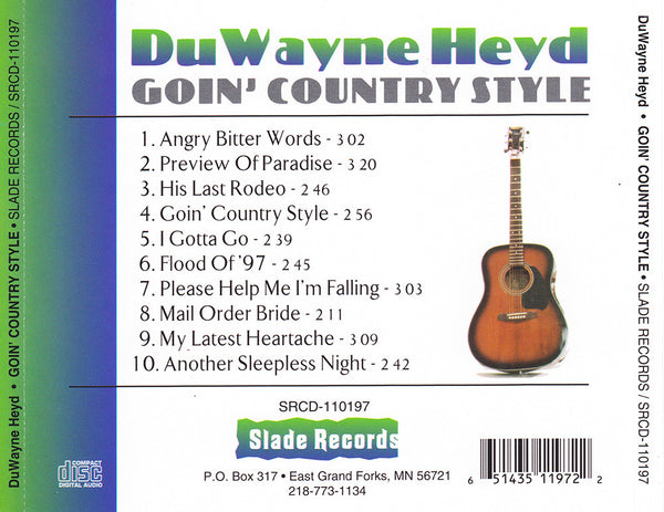Goin' Country Style - Album