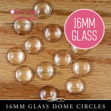 GFX Glamour FX Glass 16mm Circle Domed