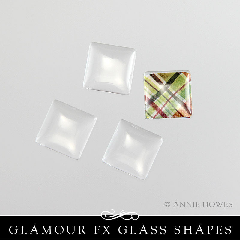 GFX-Glamour FX Glass 16mm Square Domed - GFX16SqD-25