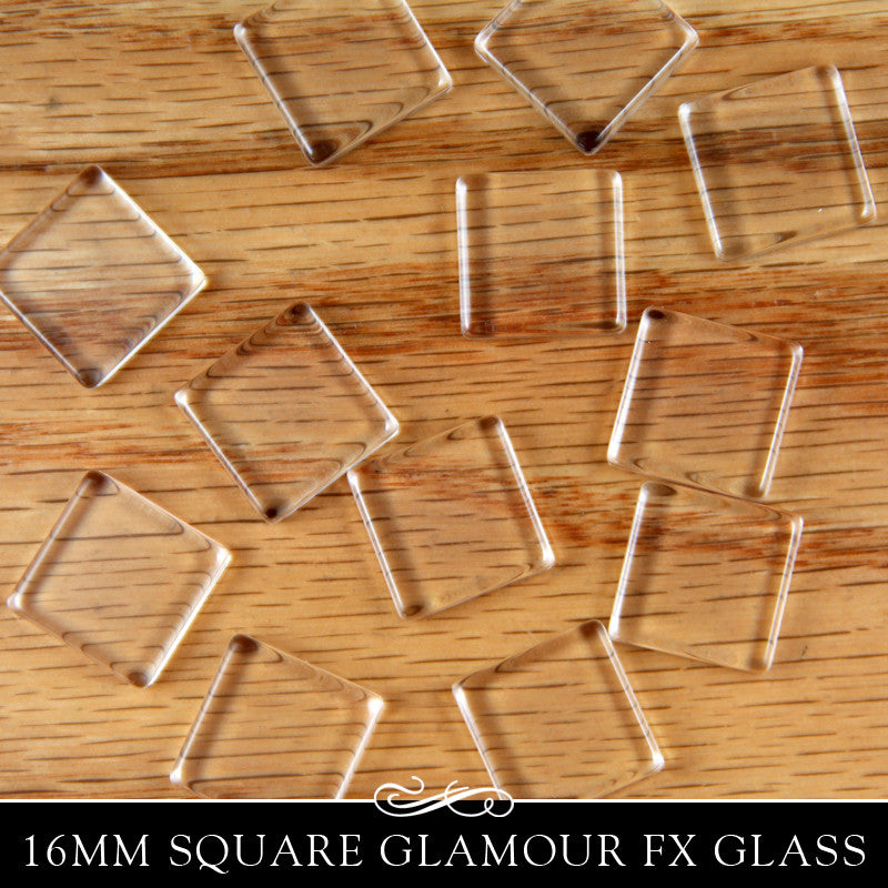 GFX Glamour  FX Glass 16mm Square - Flat
