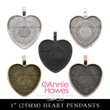 Heart Pendant Trays