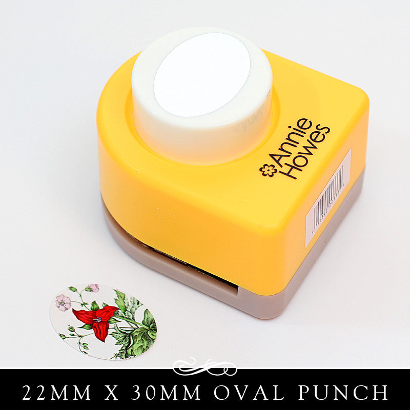 22x30mm Oval Paper Punch