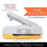 30x40mm Oval Paper Punch