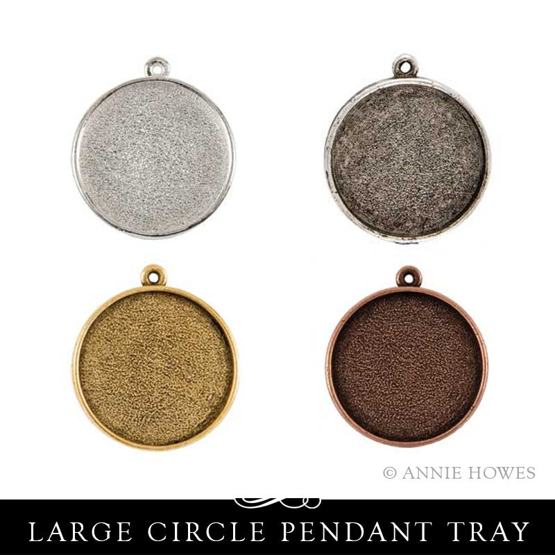 Large Circle Pendant Tray - Single Loop - GPCS Nunn Design
