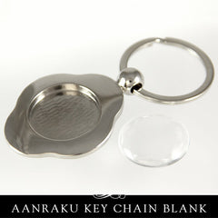 Aanraku Blank Key Holder With Glass - Flower