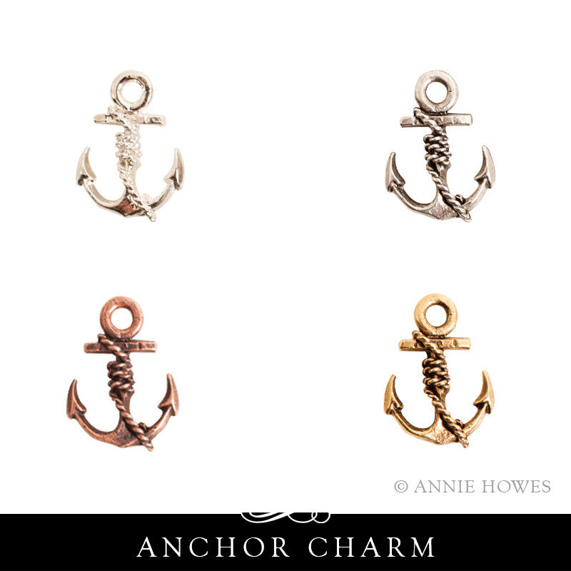 Anchor Charm. Nunn Design