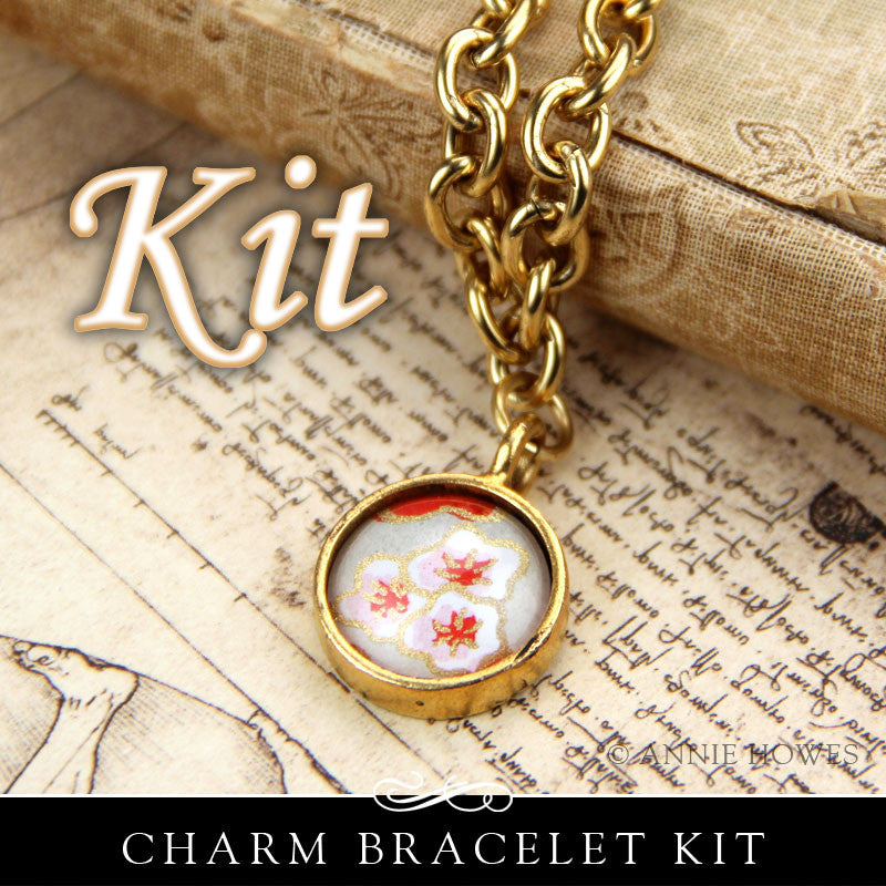 Photo Frame Charm Bracelet Circle or Square Kit