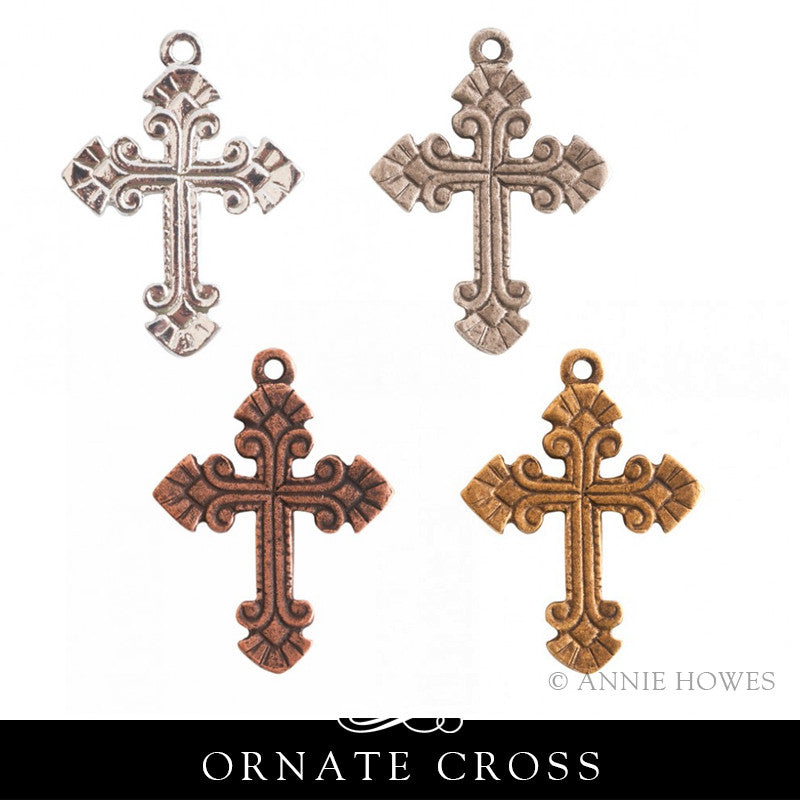 Cross Charm. Nunn Design.
