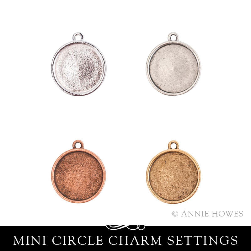 Mini Circle Charm Setting - MLSC Nunn Design