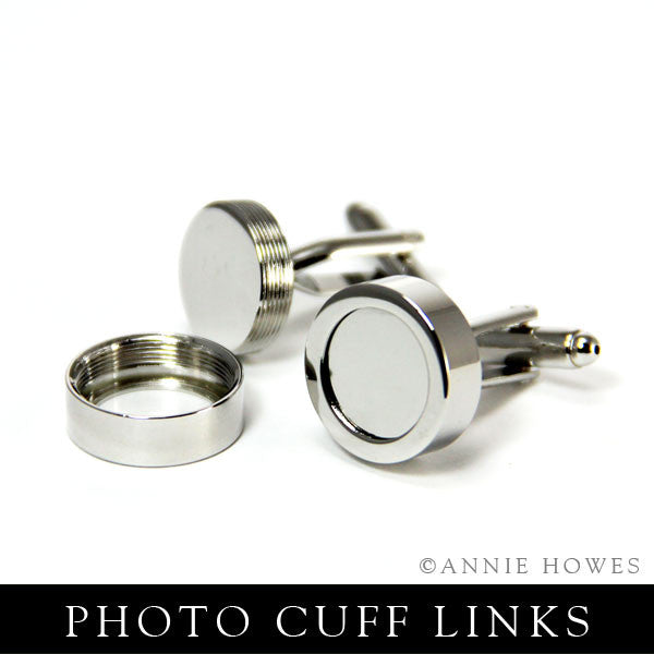 Photo Cuff Links - Silver