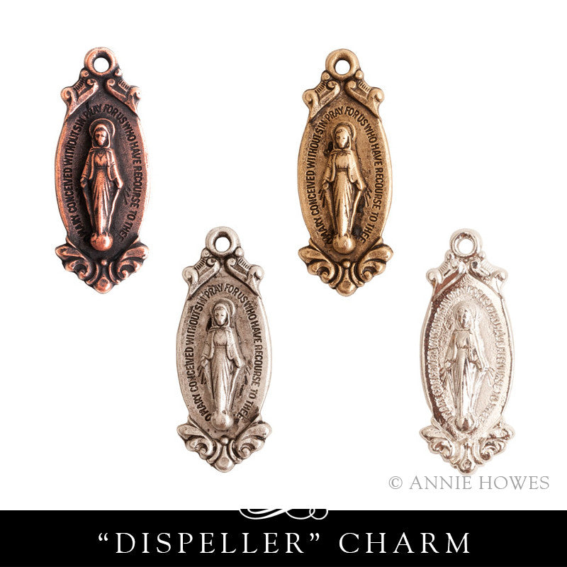 Virgin Mary Charm. Nunn Design.
