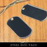 Standard Size Dog Tags