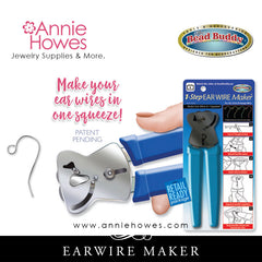 Bead Buddy Earwire Maker. 1-Step Ear Wire Maker.