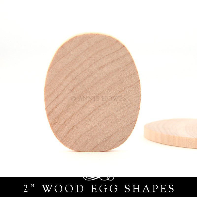 Wood Egg Shape