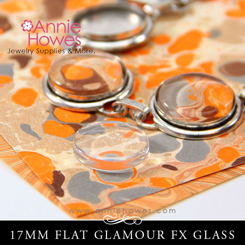 GFX Glamour FX Glass 17mm Flat Circles